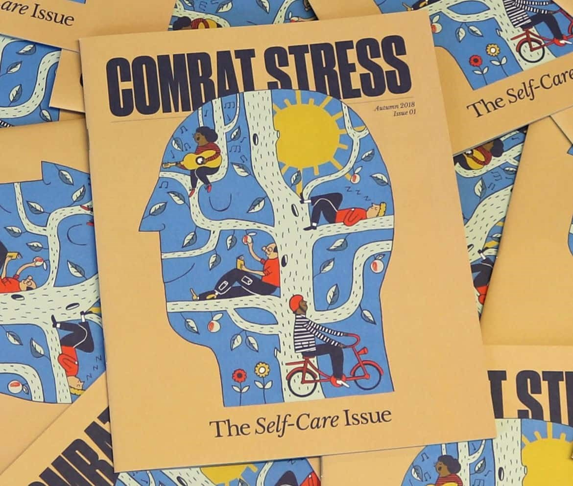 COmbat stress magazine cover
